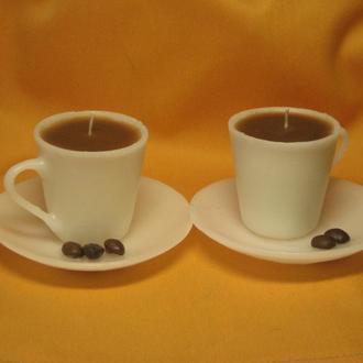 Свеча подарочная декоративная Чашка кофейная