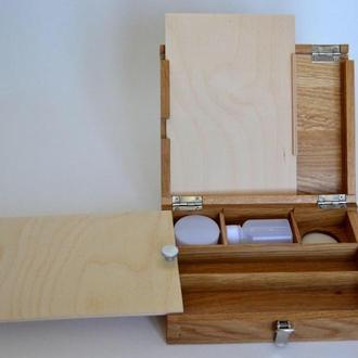 Этюдник для масляной живописи из массива дуба и ясеня.