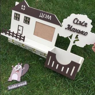 Ключница «Дом милы дом»