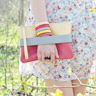 """Рожевий клач - сумочка """"CarryMe"""""""