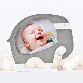Фоторамка слон, декор в детскую