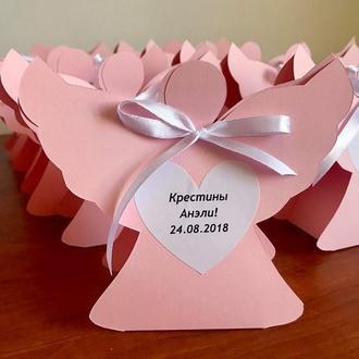 Бонбоньерка, бонбоньерки, свадебные коробочки, коробочки для конфет, на крестины, день рождение