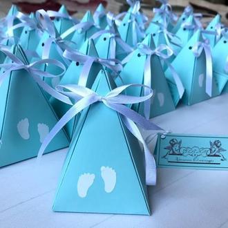 Бонбоньєрки на хрещення, день народження, коробочки на весілля, день народження, свято, бонбоньєрка