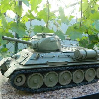 Реплика на танк Т-34-76.