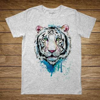 "Унисекс футболка с принтом ""Тигр"""