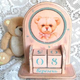 """Вечный календарь """" Мишка"""""""