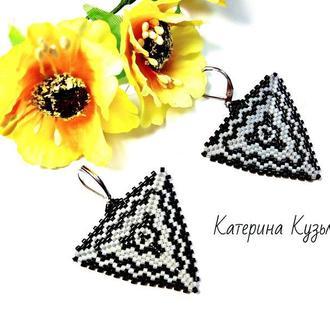 Серьги ′Треугольники′