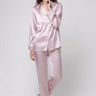 Шёлковая пижама Gabrielle Pearl Pink