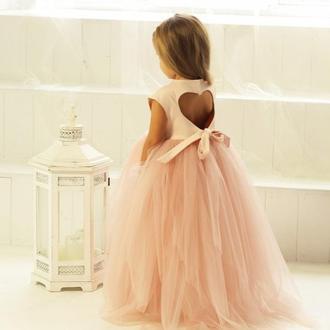 """Пышное детское нарядное платье """"Ангельское сердце"""""""