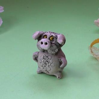 Свинка фигурка свиньи №66