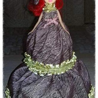 """Интерьерная кукла-шкатулка """"Элизабет"""""""