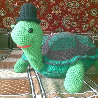 вязяная игрушка Черепаха
