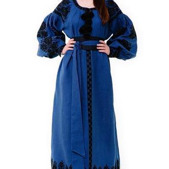 """Дизайнерська сукня """"Ніченька"""""""