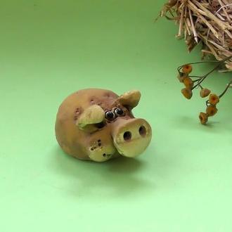 Поросёнок Милашка фигурка свиньи