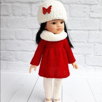 Одяг для ляльок зимовий одяг на Паолу