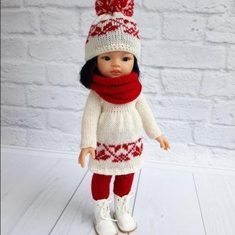 Зимовий одяг для ляльок Паола