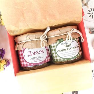 Подарочный набор Джем+чай