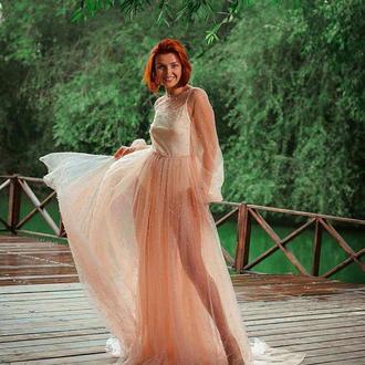 "Будуарное платье ""AirPearl"""