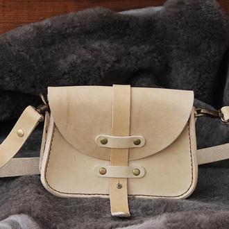 Стильная женская кожаная сумочка
