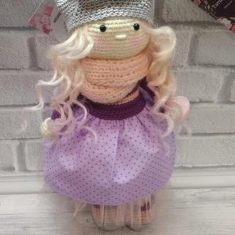 Кукла вязаная кукла