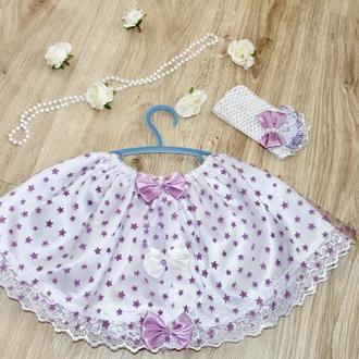 Детская нарядная юбка