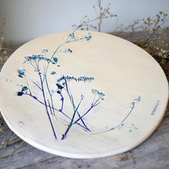 Керамічна тарілка