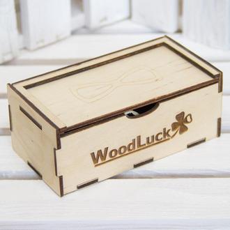 Коробка под деревянную бабочку