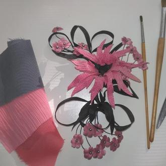Цветок для украшения волос, одежды, интерьера