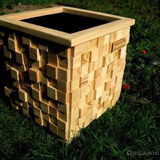 Ящик, кашпо для квітів, Organic Box TM, модель 3D