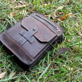 """Крепкая стильная сумка для настоящего ценителя качества и стиля """"ОТАМАН"""""""