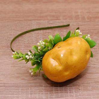 Обруч Картошка на праздник осени, праздник урожая