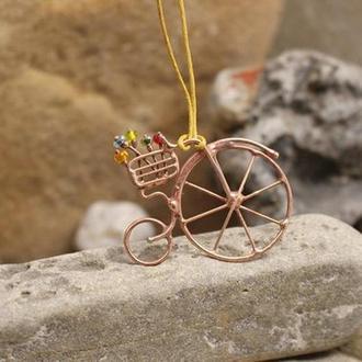 Подвеска Ретро велосипед Подарок девушке