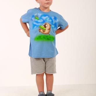 Футболка для мальчика с коротким рукавом