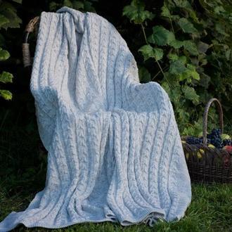 Плед Колосок, светло-серый, 170×210см