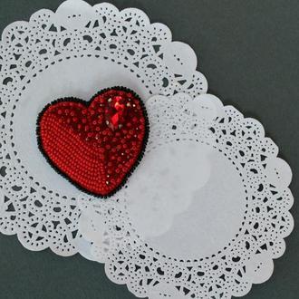 Брошь «Сердце»