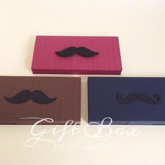 "Gift Box ""Gentelman"" - открытка в коробочке"