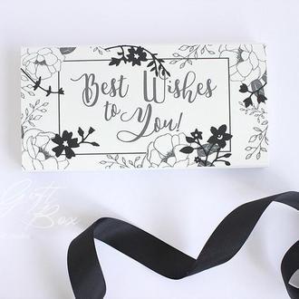 """Gift Box """"Lampika"""" (черный)- открытка в коробочке"""