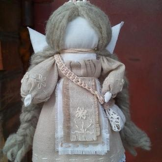 Авторская кукла мотанка Ангел Хранитель.