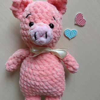 Плюшевая хрюша, свинка