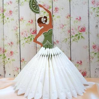 Салфетница Испанская танцовщица