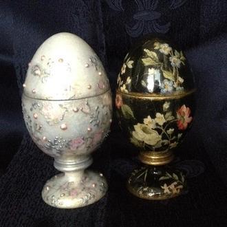 яйцо пасхальное шкатулка