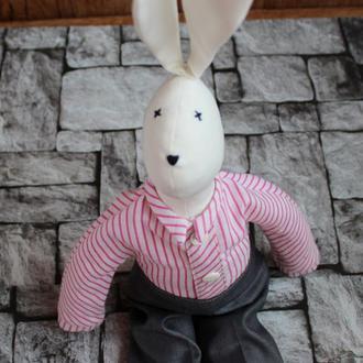 Заяц тильда игрушка интерьерная для детей