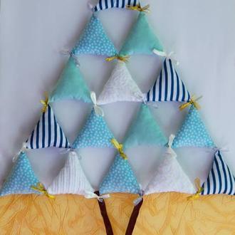 Елка игрушка Мягкая елка Новогодний подарок