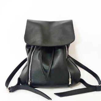 Стильный рюкзак из натуральной кожи