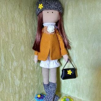 Кукла, девочка, тильда, игрушка