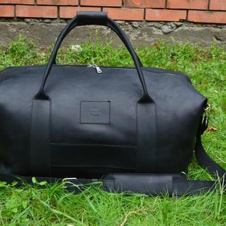 Кожаная спортивная / дорожная сумка Sport&Travel