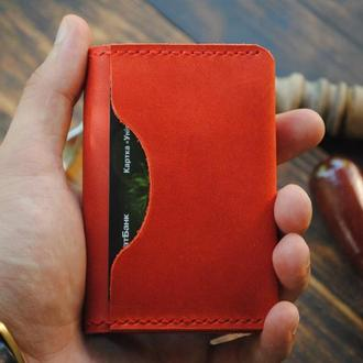 Кожаная визитница - Кейс для кредитных карт - Кардхолдер