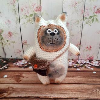 Кот Путешественник - интерьерная игрушка