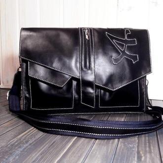 Именная / брендированная мужская / женская сумка портфель
