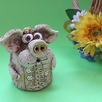 Свинья Копилка №3 свинка